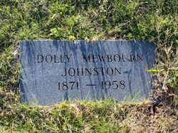 "Dolly Jane ""Dollie"" <I>Mewbourn</I> Johnston"
