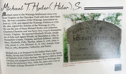 Michael Hyder, Sr