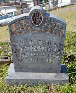 Harriet Kekino Koanui