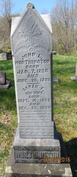 """John Luther """"Jack"""" Worthington"""
