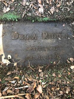 Delia Riddle
