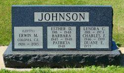 "Erwin M. ""Lefty"" Johnson"