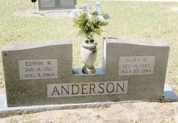 Mary Ruth <I>Langford</I> Anderson