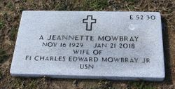 A Jeanette Mowbray