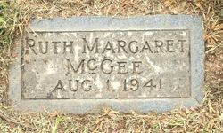 Ruth Margaret McGee