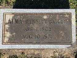 Alma E Bailey
