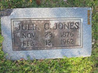 Julia B <I>Chappell</I> Jones