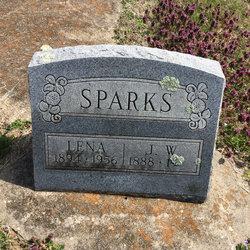 Lena V <I>Garner</I> Sparks