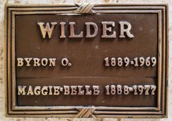 Maggie Belle <I>Long</I> Wilder