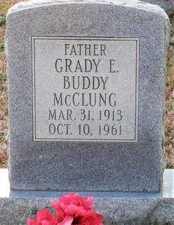 "Grady E. ""Buddy"" McClung"