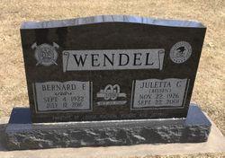 Juletta C. <I>Bissen</I> Wendel