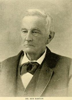Dr Ben Barton