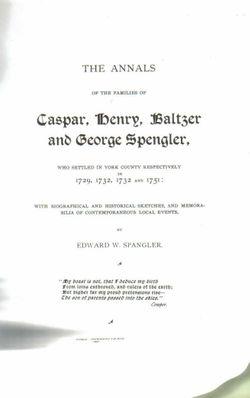 Hans Caspar Spengler