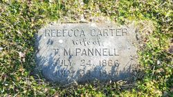 Rebecca Dove <I>Carter</I> Pannell
