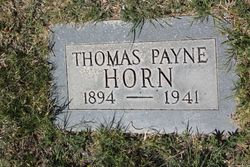 Thomas Payne Horn