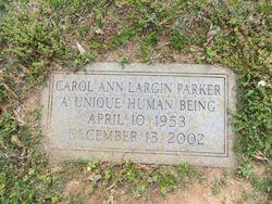 Mrs Carol Ann <I>Largin</I> Parker
