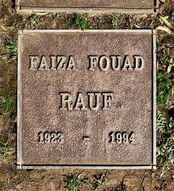 """Faiza Foaud """"Princess Faiza of Egypt"""" Rauf"""