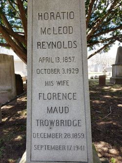 Florence Maud <I>Trowbridge</I> Reynolds