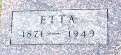 Cora Etta <I>Davis</I> Sharp