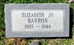 "Elizabeth Joe ""Sis"" Barron"