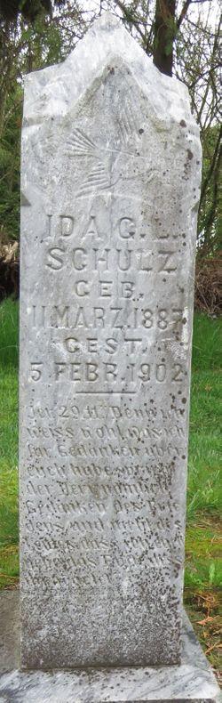 Ida G L Schulz