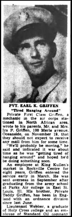 PFC Earl K. Griffen
