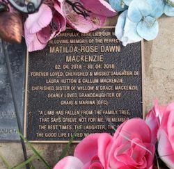 Matilda-Rose Dawn MacKenzie (2018-2018) - Find A Grave Memorial
