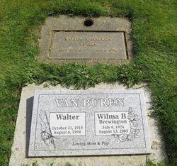 Wilma B. <I>Brewington</I> Van Buren