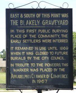 Blakely Graveyard