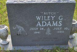"Wiley G. ""Butch"" Adams"