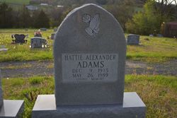 Hattie <I>Alexander</I> Adams