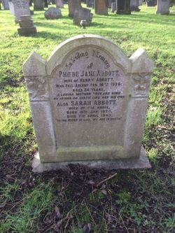 Phoebe Jane <I>Allridge</I> Abbott