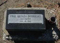 Paul Wesley Dearborn