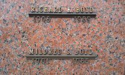 Mildred V. <I>Spragg</I> Boyd