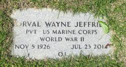 Orval Wayne Jeffries
