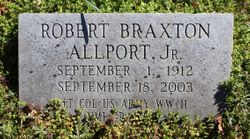 """LTC Robert Braxton """"Bob"""" Allport Jr."""