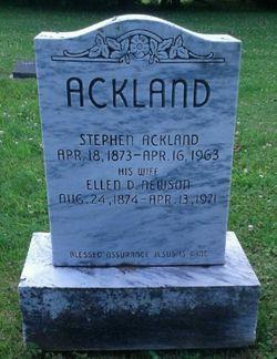 Ellen D <I>Newson</I> Ackland