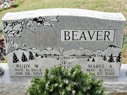 Mabel Alice <I>McGuire</I> Beaver