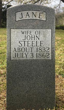 Rebecca Jane <I>Burris</I> Steele