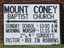 Mount Coney Missionary Baptist Church Cemetery