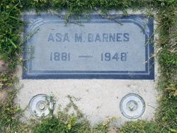 Asa Monroe Barnes (1881-1948) - Find A Grave Memorial