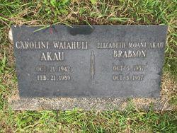 Caroline Waiahuli Akau