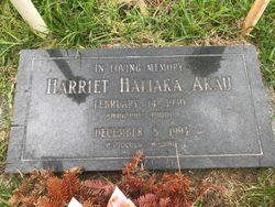 Harriet H. Akau