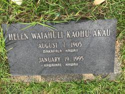 Helen Waiahuli <I>Kaohu</I> Akau