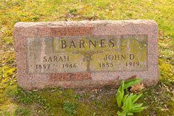 Sarah <I>Barnes</I> Barnes