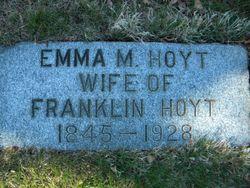 Emma M. <I>Halbrook</I> Hoyt