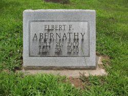 Elbert F. Abernathy