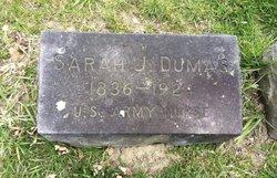 Sarah Jane <I>Bachum</I> Dumas