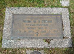 John Wesley Young Stone