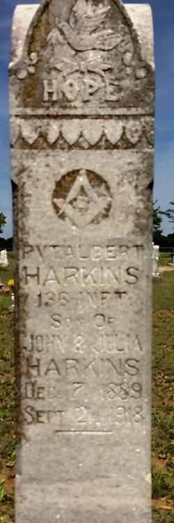 PVT Albert Harkins